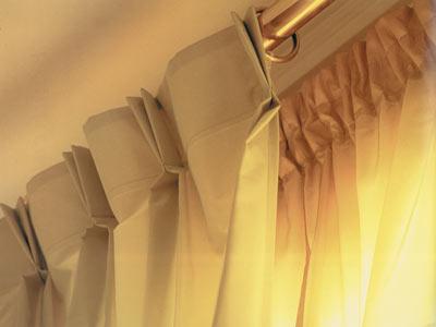 Detalle de pinza americana cortinas lucia casanova for Cortinas de argollas