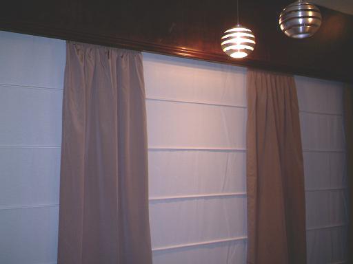 Romanas con clasicas en madras cortinas lucia casanova - Sistemas para cortinas ...